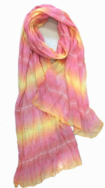 [Roadies]義大利製Fattorseta絲巾(樣品出清N0-P3640)