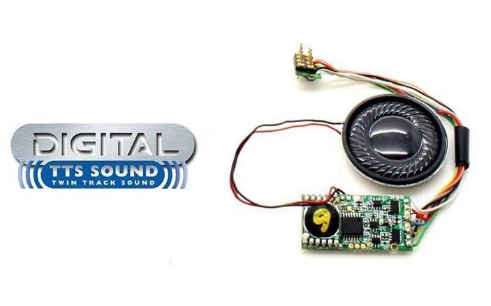 現貨 Hornby R8108 HO規 TTS Sound Decoder Tornado A1 Class 音效晶片