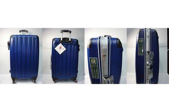 ♥Bag Party♥【NINO 1881】MIT 27吋 行李硬箱出國旅行登機箱 鋁框 飛機輪拉桿防撞 湛青珍珠 共7色 特價 $ 3880