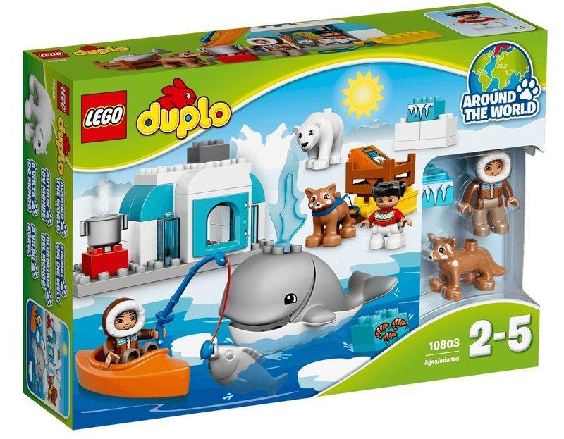 全新LEGO樂高#10803 DUPLO 得寶系列 北極 Arctic★鯨魚★北極熊★哈士奇犬
