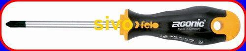 德國製 Felo 402 305 10超軟炳十字起子ERGONIC® 402 規格 PH3 x 150 mm