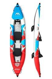☆大角羊(牧野)☆【ST-412】Aqua Marina樂划 湍流號雙人充氣獨木舟 STEAM 充氣船橡皮艇皮划艇K2