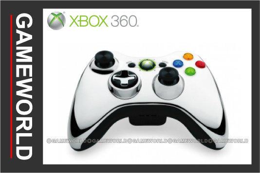 【無現貨】微軟 XBOX360 無線控制器 Chrome 鍍鉻 特別版 亮銀色(XBOX360周邊)2012-05 ~【電玩國度】