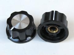 [含稅]膠木鋁合金型 功放音量電位器波段開關儀器儀錶 旋鈕帽子