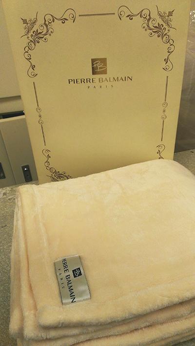 法國 PIERRE BALMAIN 皮爾帕門 羊絨毯 150x200cm