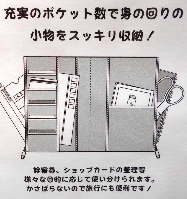 出清1659(快樂小舖)日本正版 凱蒂貓 HELLO KITTY 雙拉鍊護照旅行隨身包通帳金融帳本小物收納包萬用包104
