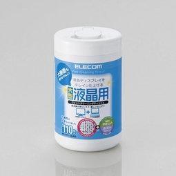 【立高達】光華店★★日本ELECOM 液晶螢幕專用擦拭巾110P