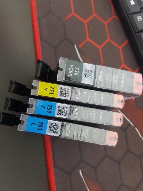 單一價 裸裝 CANON PGI-750 751 黑色原廠墨水匣 彩色少50元