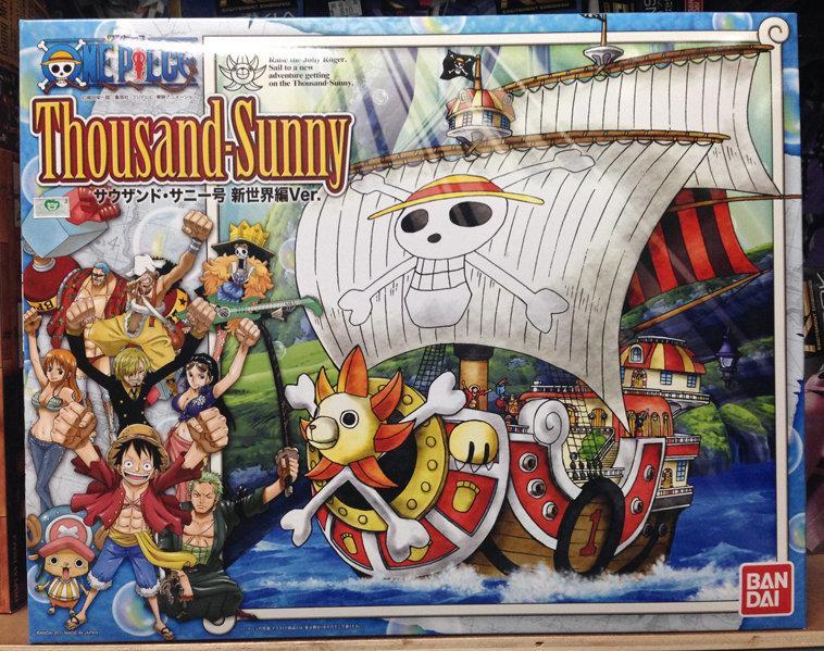 新奇玩具☆萬代 BANDAI 組裝模型 海賊王 航海王 千陽號 新世界