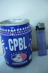 職棒元年紀念易開罐造型存錢筒
