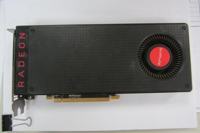 RX480 GDDR5 8GB AMD Radeon原廠公版卡
