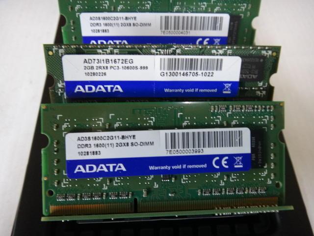 二手良品~筆記型電腦 DDR3 1066 1333 1600  2G 4G(創見 金士頓 威剛)