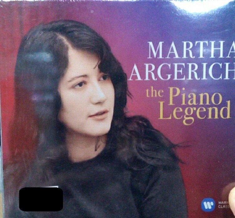 詩軒音像Martha Argerich: The Piano Legend 瑪莎·阿杰里:鋼琴傳奇 CD-dp070
