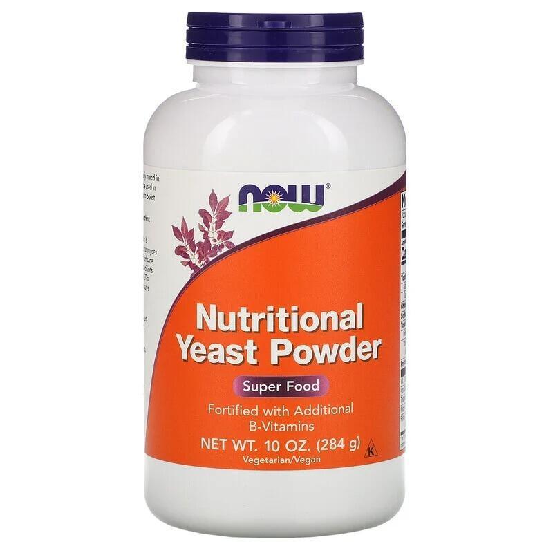[現貨][無糖] now 酵母 粉 (初生酵母)  Nutritional Yeast Powder 284g