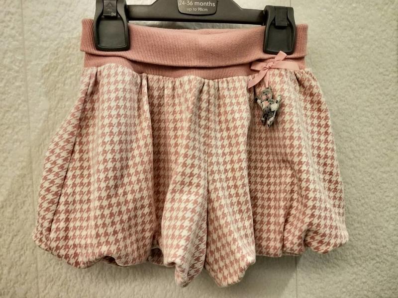 麗嬰房可愛粉色俏麗短裙/褲裙(賣場還有麗嬰房,安妮公主,ELLE..)