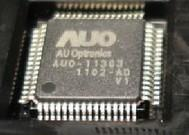 [二手拆機][含稅]液晶屏晶片AUO-11303 K1 V1 QFP64 拆機二手