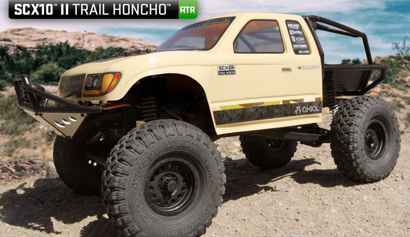 天母168 有影片  Axial SCX10  Trail Honcho 1/10 攀岩車 AX90059 免運