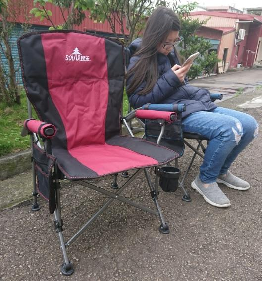 小號休閒椅 露營摺疊椅 大川椅 小號大G椅 靠背椅 沙灘椅 户外休閒椅 折疊椅 辦公椅 椅子 承載:120KG