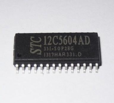 [二手拆機][含稅]STC12C5604AD-35I-SOP28 品質保證