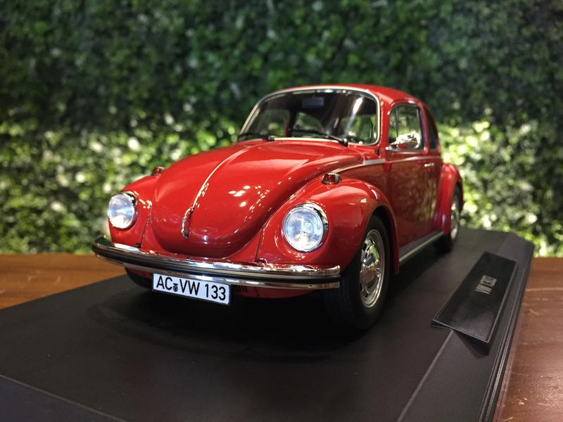 1/18 Norev Volkswagen VW Beetle 1303 1973 Red 188520【MGM】