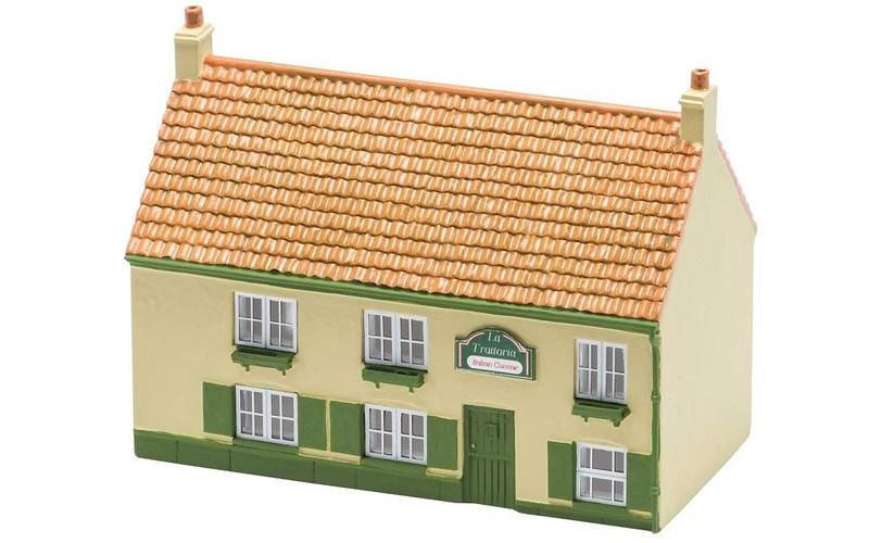 現貨 Hornby R9832 HO規 The Restaurant 餐廳.完成品