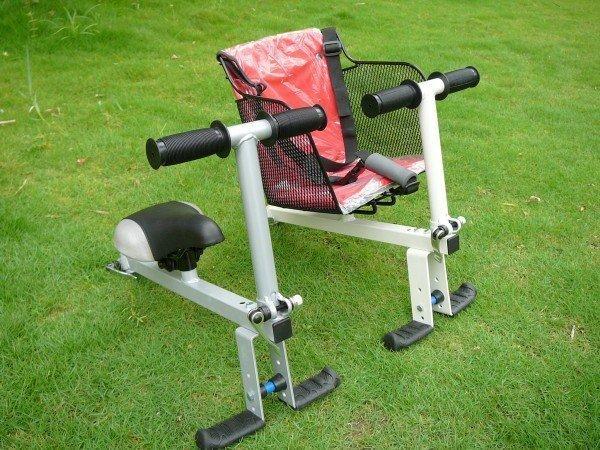 快拆親子座 兒童安全座椅 安全座椅 單人可變成親子車/親子摺疊車 折疊車