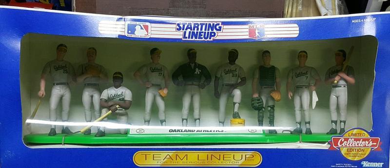 【多金魚】全新 KENNER MLB 美國職業棒球大聯盟 OAKLAND ATHLETICS 奧克蘭運動家