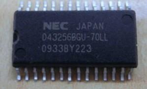 [二手拆機][含稅]原裝 UPD43256BGU-70LL D43256 UPD43256BGU 晶片
