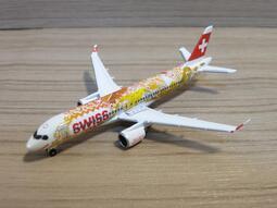 宗鑫 1/500 Herpa Wings HW533584 Airbus A220 300 瑞士航空 沃韋葡萄酒節彩繪