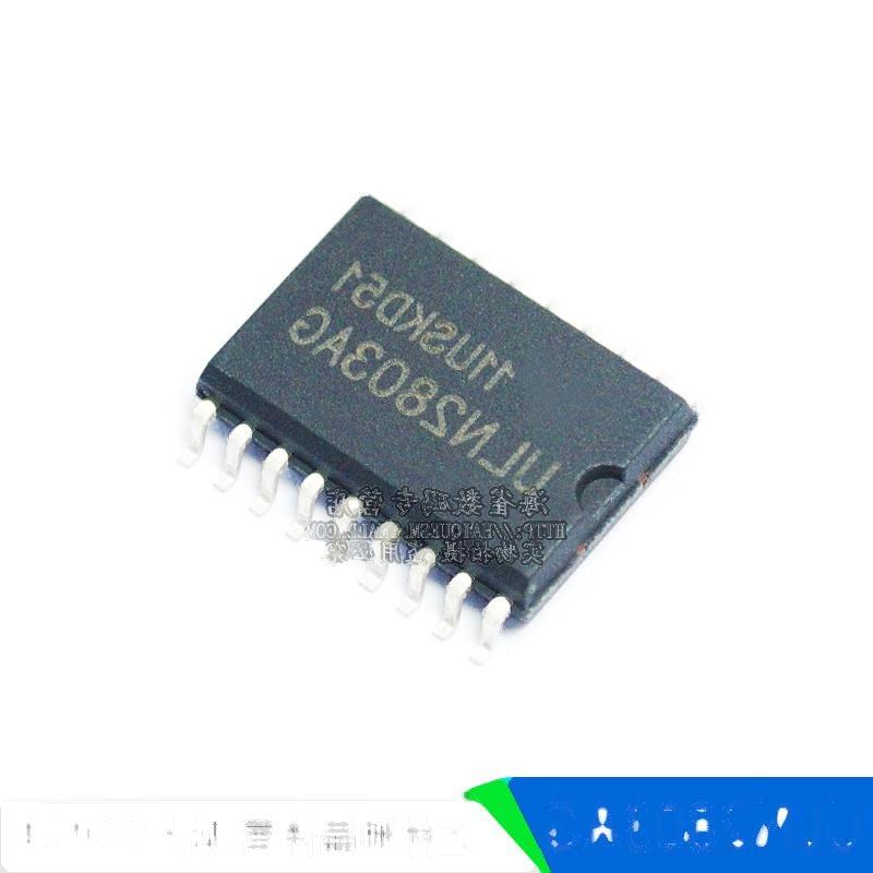 ULN2803A ULN2803AG 達林頓晶體管 貼片SOP18 221-01064