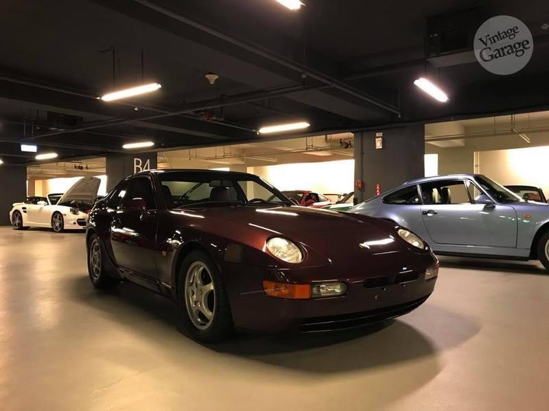 老車庫售:1992 Porsche 968 總代理