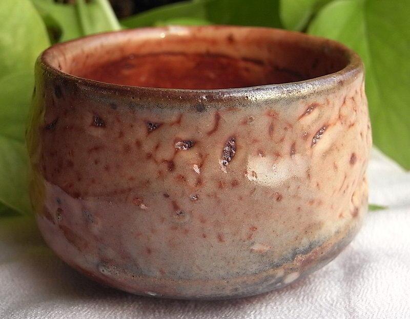 【子葳手札】特價~林宗誼 手拉坯 志野杯 開片 熟料土 陶杯 中式 品茗 普洱 茶杯