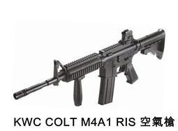 KWC COLT M4 RIS 空氣槍 ( m16 t91 65k2結婚丟槍扔槍新娘扔扇BB槍BB彈玩具槍步槍長槍衝鋒槍