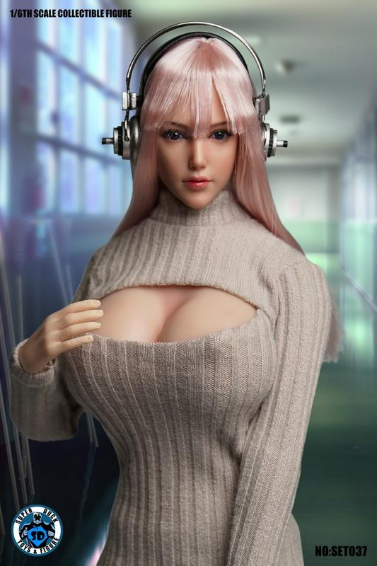 1108【搖滾吉米】預購 Q1 SUPER DUCK 新品:1/6 Cosplay系列 -  虛擬美少女+素體S07C