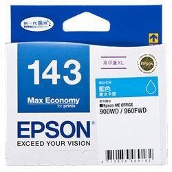 彩繪軒☆EPSON 143 T1432 原廠藍WF-7011/WF-7511/WF-7521/WF-3521/3541