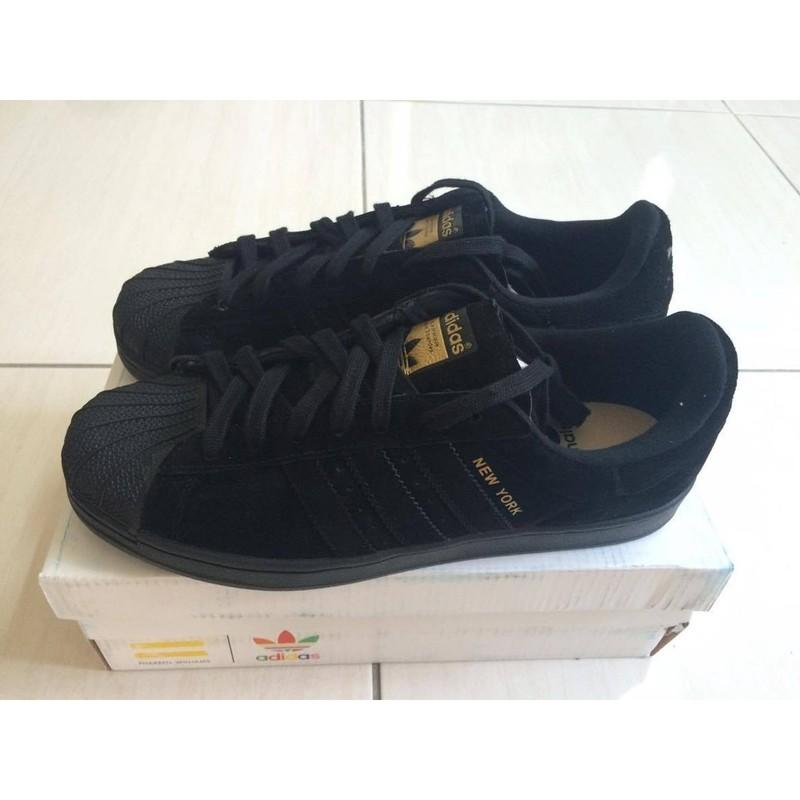 taille 40 e7ccf ebb7a Adidas Superstar NEW YORK CITY 全新現貨出清虧本賣 28CM一雙