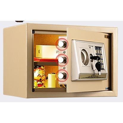 保險櫃家用辦公迷你 保險箱家用小型入牆保管箱25nw(限宅配)