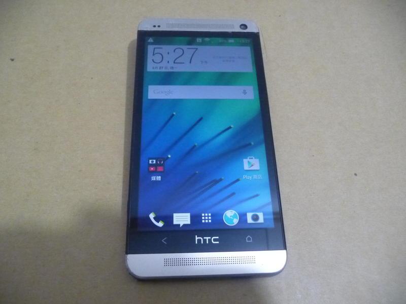HTC ONE M7 801s 32G 4G版 電源按鍵難按 其他功能正常 當故障機賣
