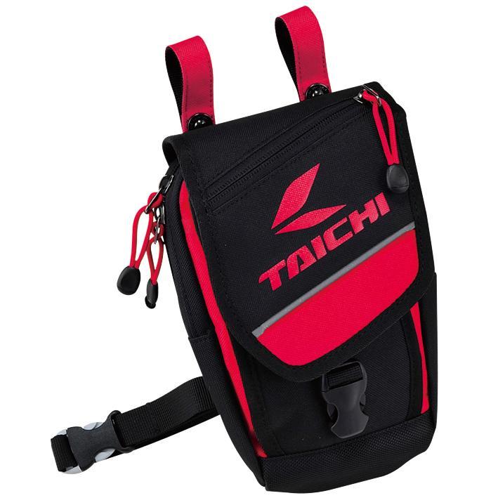 德芯騎士部品屋 RS TAICHI RSB269/黑紅 重機超跑自行車 多置物空間腰包腿包 1.5L (現貨詢問)