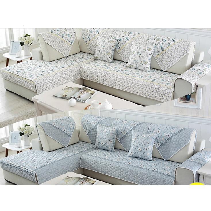 簡約現代/四季可用】四季布藝組合沙發墊套裝沙發套全