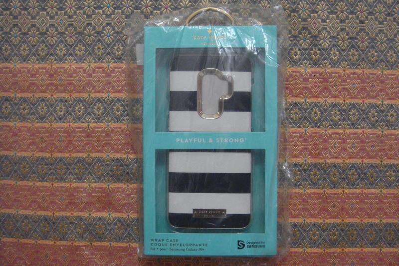 Samsung S9+ Kate Spade     黑白條紋背蓋