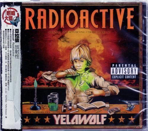 【絕版品】Yelawolf 亞拉狼 // 放射性 - 歐版 -環球唱片、2011年發行