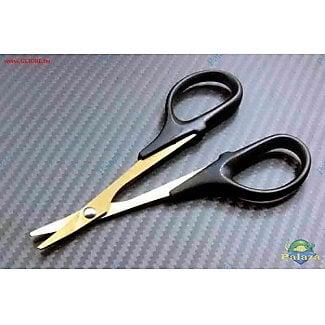 【加菲貓】鍍鈦彎頭剪刀/塑膠殼修剪專用/車殼剪 #GR0362-02