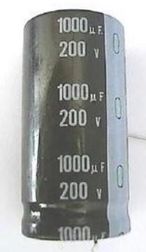 [二手拆機][含稅]電解電容 200V 1000UF 電容器