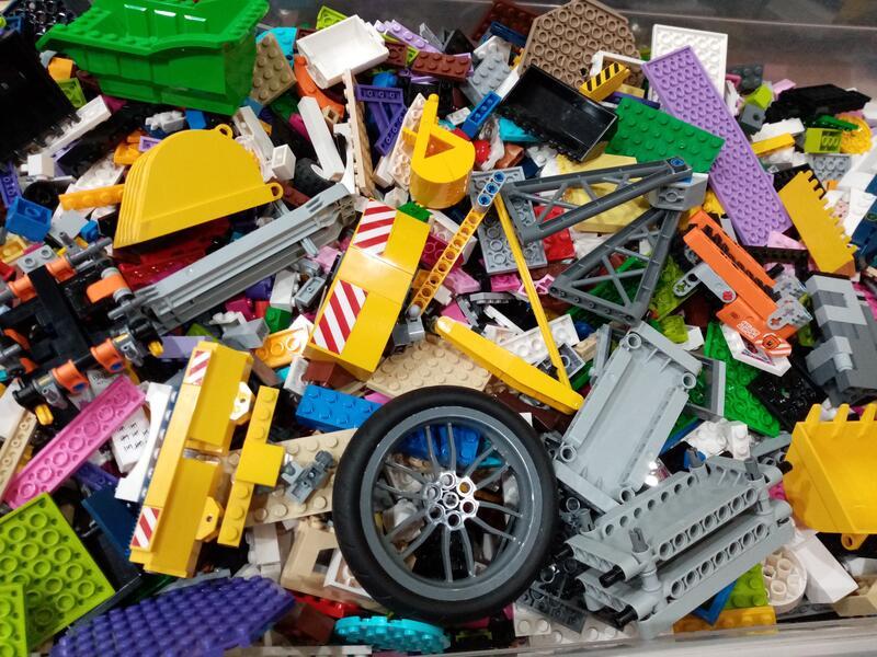 LEGO 樂高二手零件積木(1公斤)