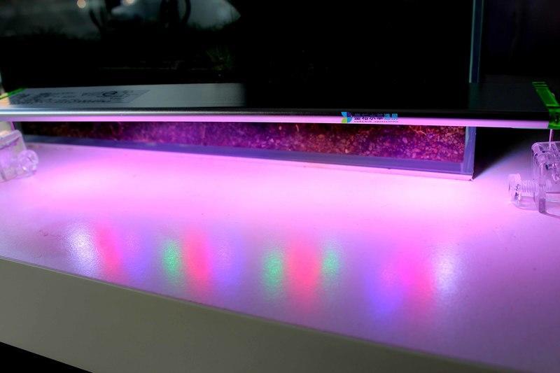 @墨耘水草造景@UP 雅柏 T系列 LED 1.2尺36cm 紅燈/ 增豔燈 LED跨燈/$630