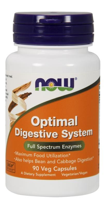 [預購] Now 消化酶混和物 90粒 Optimum Digestive System