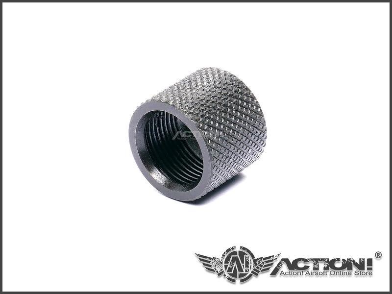 【Action!】現貨)CRUSADER十字軍 - 正16牙(16mm正牙) 鋼製螺牙保護套