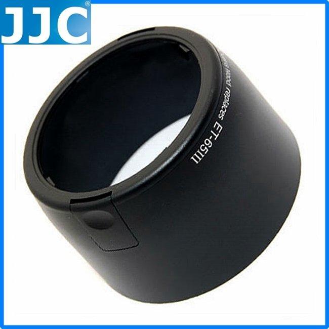 又敗家@Canon佳能ET-65III遮光罩適EF 100-300mm f/4.5-5.6 100mm f/2 85mm f/1.8遮罩,JJC副廠遮光罩相容原廠Canon遮光罩ET65III