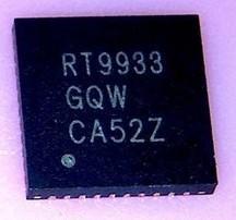 [二手拆機][含稅]拆機二手原裝 RT9933GQW RT9933 液晶屏晶片